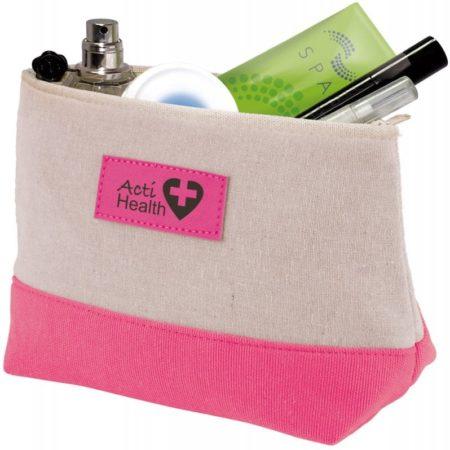 BA1664 pink open 1 450x450 - Amenity Bag