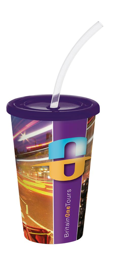 DR1630 purple - Brite-Americano Stadium Cup