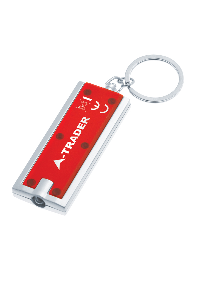 KY4507 red - Portland Keyring Torch