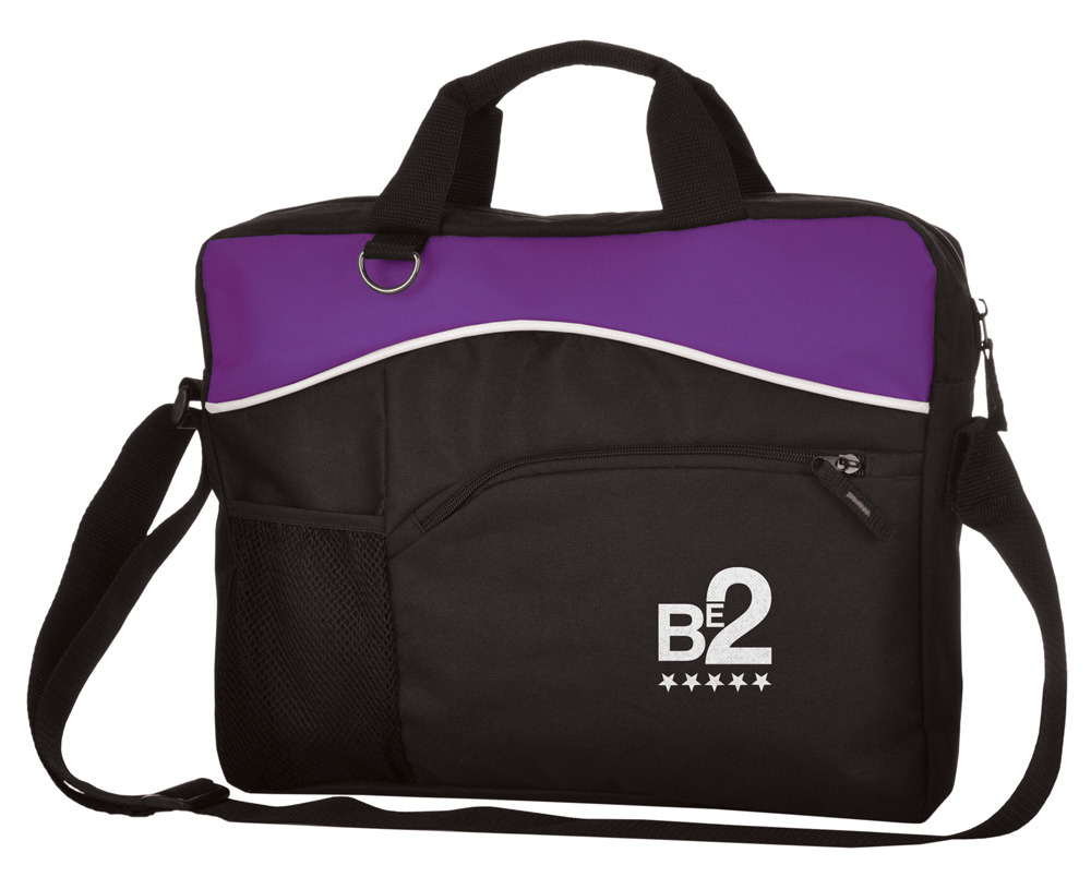 LE9546 purple - Briefcase Bag