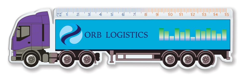 RU1205 lorry - 15cm Shaped Rulers