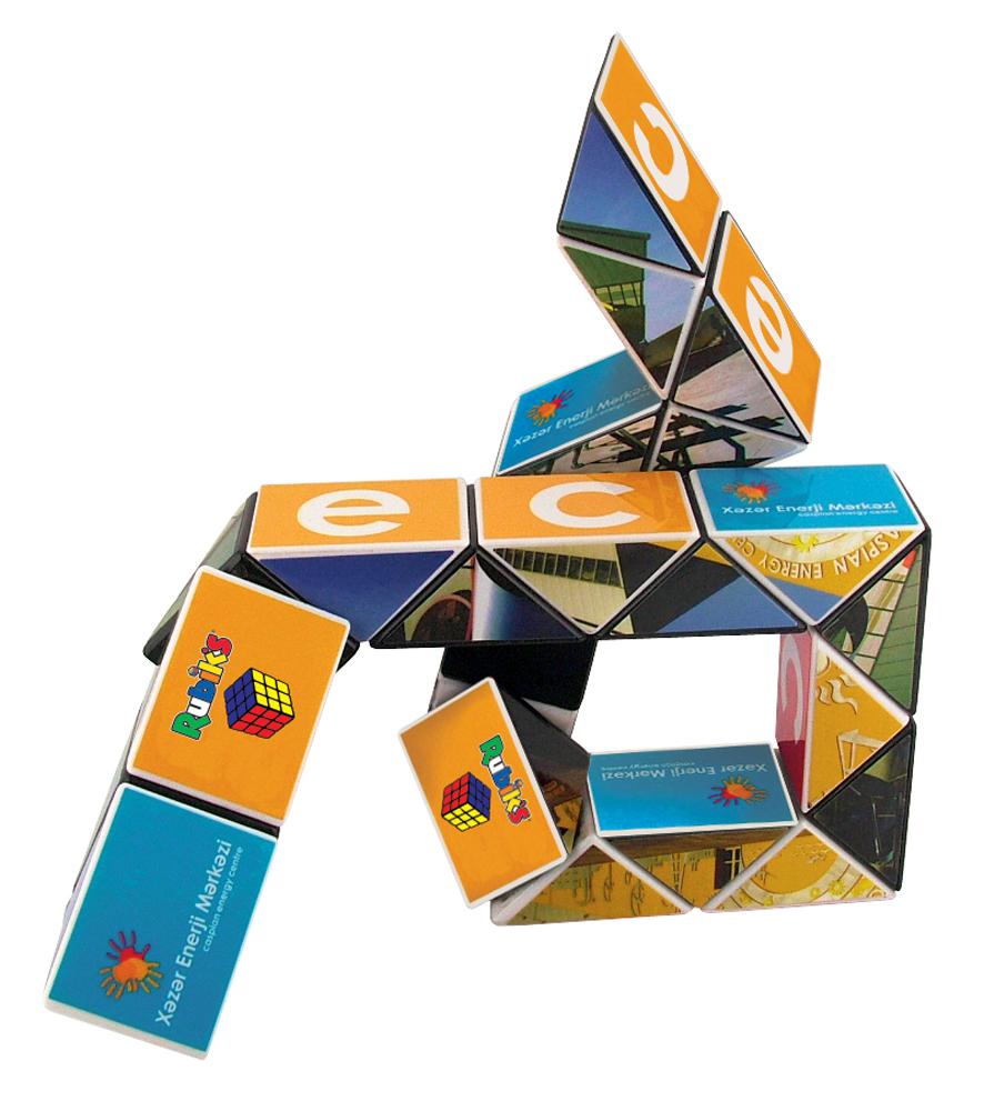 ST2633 - Personalised Rubiks Snake