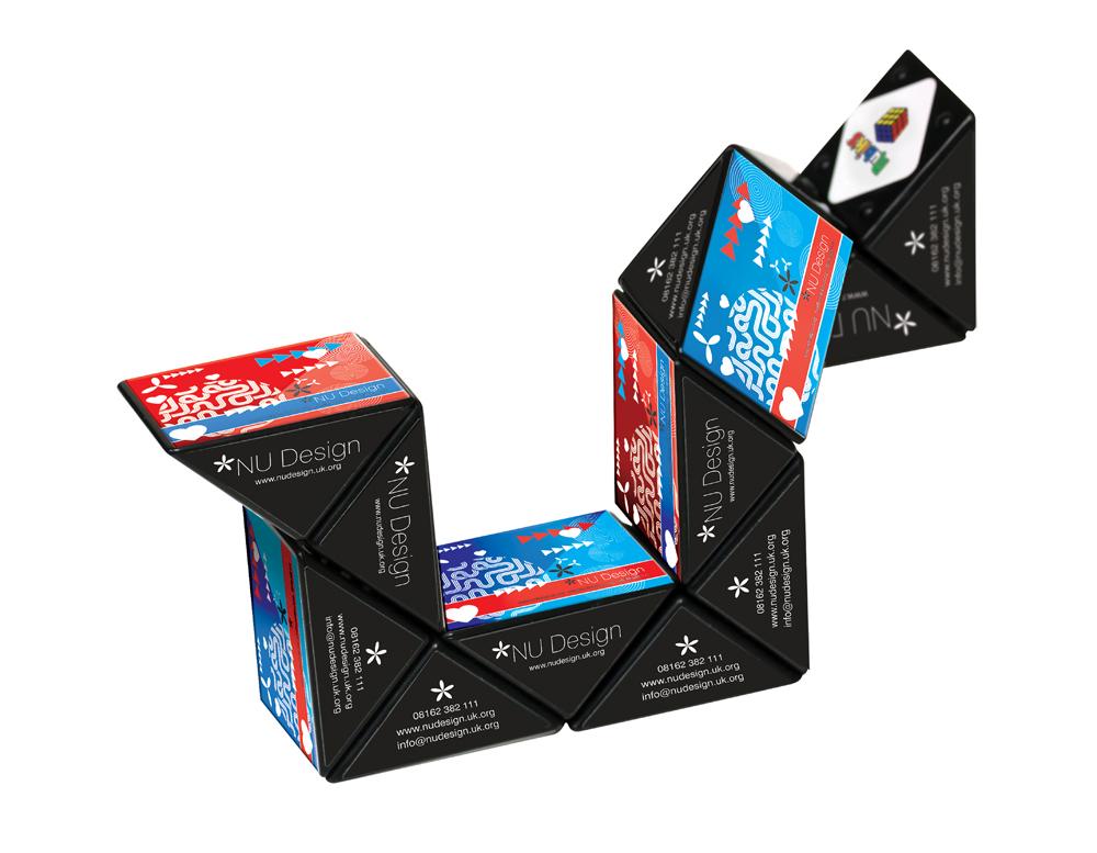 ST2637 - Personalised Rubiks Mini Snake