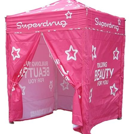 upright 1GAZ 1 436x450 - 2m x 2m Gazebo Including x3 Side Walls