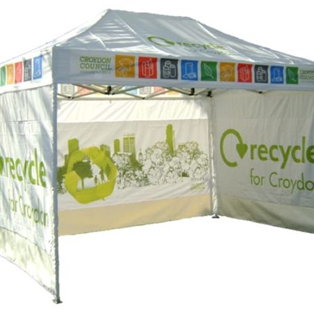 upright 5GAZ  450x450 - 4.5m x 3m Gazebo Including x3 Side Walls