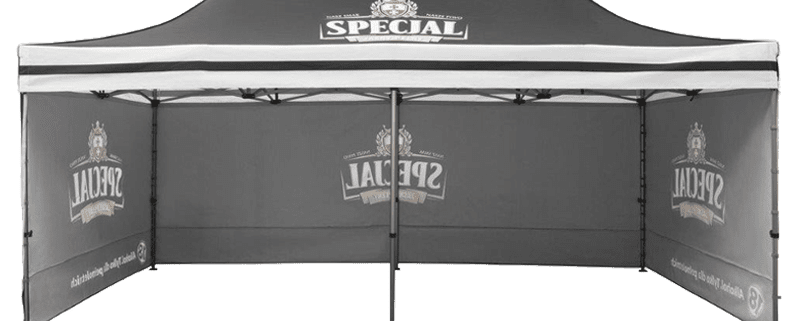 upright 6GAZ 800x321 - 2m x 2m Gazebo Including x3 Side Walls