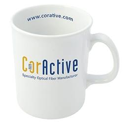Atlantic Mug white new - WHITE ATLANTIC COFFEE MUG