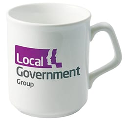 Sparta Promotional Mug white new - Printed Sparta Mugs