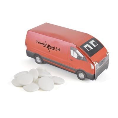 XF905015 - Delivery Van/Imperial Mints