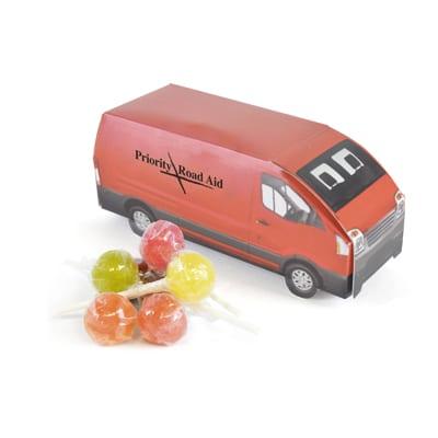 XF905017 - Delivery Van/Lollipops