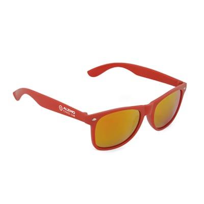 Mirrored Sunny - Printed  Mirrored Sunglasses