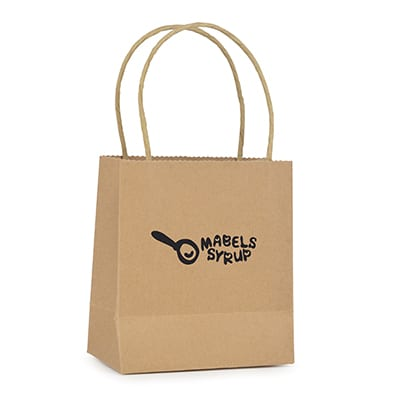 QB4003 - Brunswick Natural Small Paper Bags