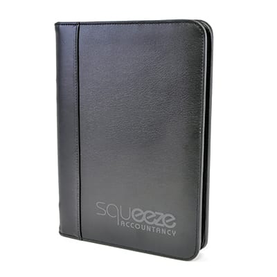 QC0076 - Dromore A5 Zipped folder
