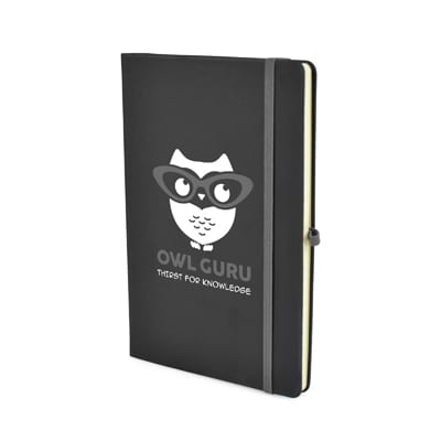 QS0765 - A5 Black Notebook