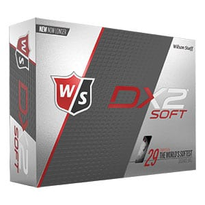 8032 - Wilson Staff Dx2 Soft Golf Balls