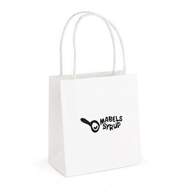 QB4013 - BRUNSWICK SMALL WHITE PAPER BAG