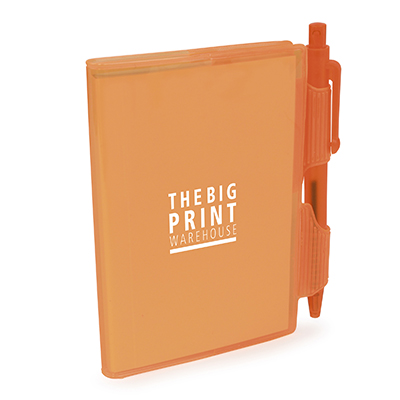 QS0118 - A7 PVC NOTEBOOK AND PEN