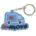 ZP0005 36x36 - MEDIUM PVC KEYRING